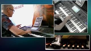 Fernando (ABBA) Panflöte, Orgel SEMPRA SE20
